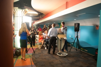 Press Event, Phoenix Children's Hospital